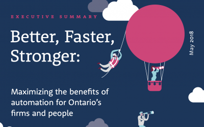 Ontario's Dual Challenge: Maximizing the Benefits of Automation for Businesses and People